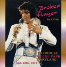 Broken Finger By Elvis (Second Pressing)