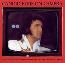 Candid Elvis On Camera