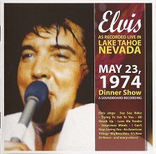 Elvis As Recorded Live In Lake Tahoe, Nevada