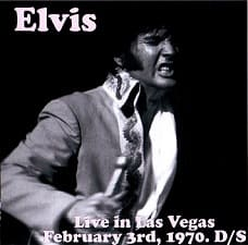 Live In Las Vegas, February 3, 1970 Dinner Show