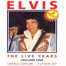 The Live Years Volume 1