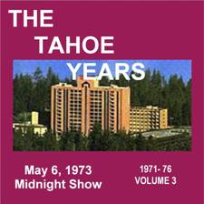The Tahoe Years Volume 3
