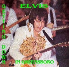 Elvis Getting Down In Greensboro