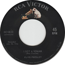 I Got A Woman / I'm Counting On You (45)