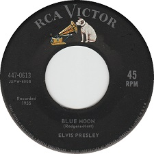 Blue Moon / Just Because (45)