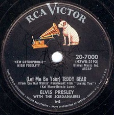 (Let Me Be Your) Teddy Bear / Loving You (78)