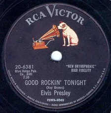 Good Rockin' Tonight / I Don't Care If The Sun Don't Shine (78)