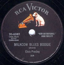 Milkcow Blues Boogie / You're A Heartbreaker (78)