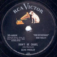 Don't Be Cruel / Hound Dog (78)
