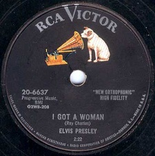 I Got A Woman / I'm Counting On You (78)