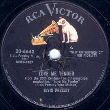 Love Me Tender / Anyway You Want Me (78)